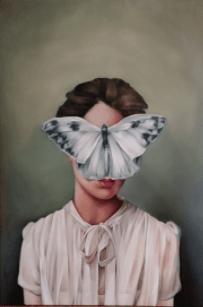 Źena a motýl